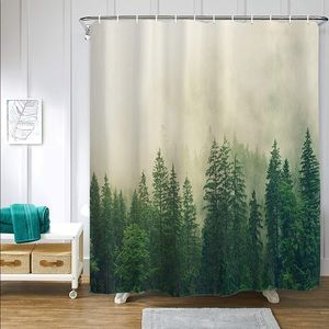 Other - Forest Woods Misty Shower Curtain